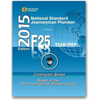 F25 NATIONAL STANDARD Journeyman Plumber Practice Questions Workbook ...