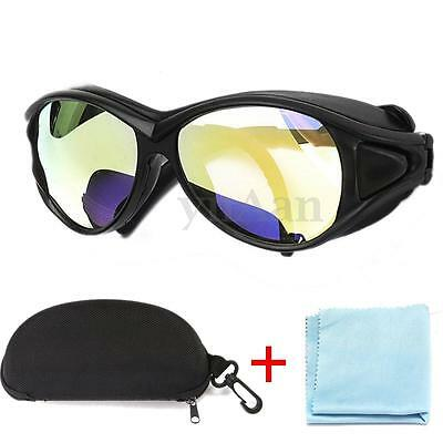 CO2 10600nm OD+7 Laser Protective Goggles Double-Layer Safety Glasses Eyewear