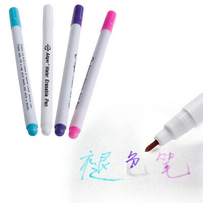 7pcs Air Erasable//Water Soluble Pen Auto-Vanishing Pens for Fabric Marking