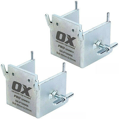 2 x OX Pro Dori Block with Lock Bolt For Use with 40 and 50mm Profile Poles