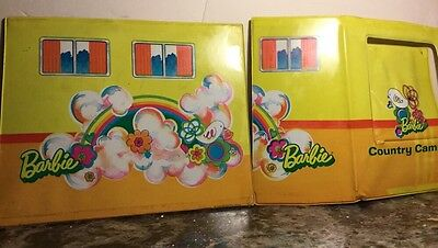 Vintage Replacement Pieces Panels Barbie Country Camper 1970 Mattel