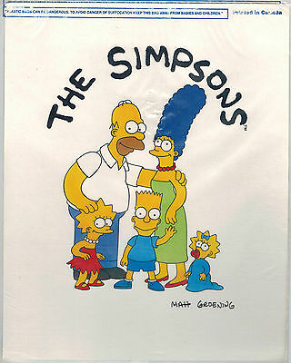 Simpson Poster Locker Card Set collection of 4 prints 1990