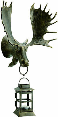 Moose Wall Mounted Lantern by SPI Home/San Pacific International 33343