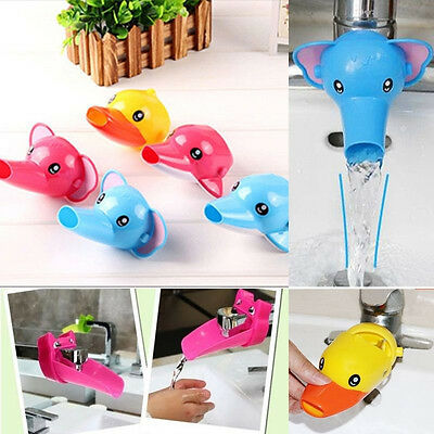 Bath Accessory Bathroom Sink Faucet Extender For Children Kid Washing Hands New
