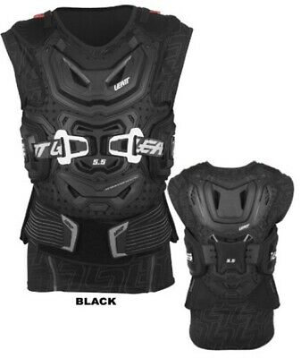 2016  Leatt Body Vest 5.5 Black   -   Small/medium 160-172Cm