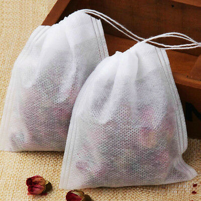 Tea Bags With String Heal Seal Filter Paper for Herb Loose Tea 100Pcs/Lot Uk