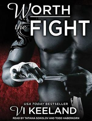 MMA Fighter: Worth the Fight 1 by Vi Keeland (2014, MP3 CD, Unabridged)