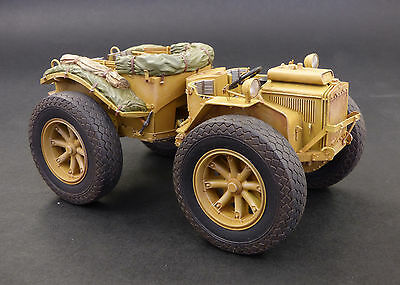 PLUS MODEL 475 Artillery Tractor Pavesi P4 w/Tyres Resin Kit in 1:35