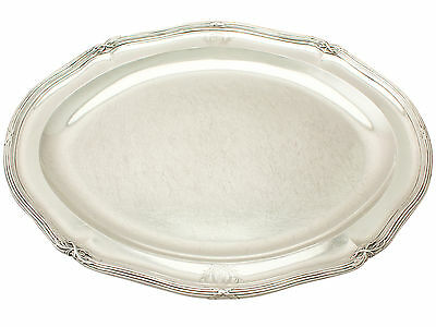 Sterling Silver Meat Platter by Paul Storr - Antique George III