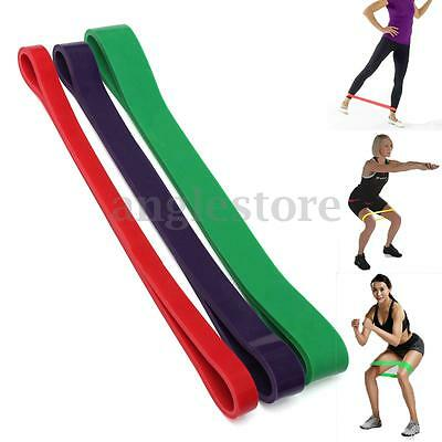 Elastique Bande De Résistance Musculation Strength Yoga GYM Exercice Fitness