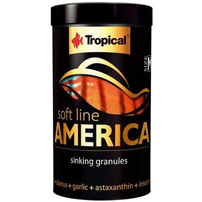 Tropical Soft Line America Size M - Cichlidenfutter Softgranulat