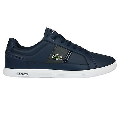 Lacoste Europa LCR3 SPM Navy Mens Trainers