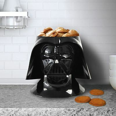 Star Wars Darth Vader Helmet Ceramic Novelty Cookie Jar Biscuit Barrel