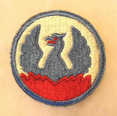 Great Wwii Southeast Asia Command Red Flames, Eyes & Tongue Mostly White Back Ce