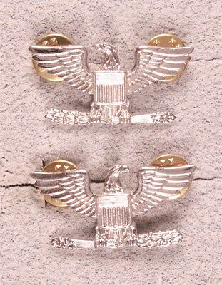 Officer Rank Pin:  Colonel or Naval Captain, pair - TN-GI