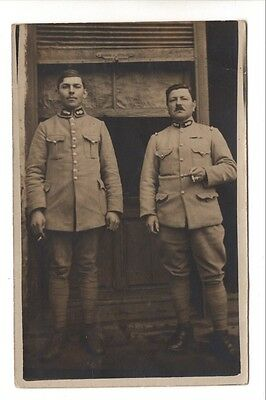 Military Related Postcard:  WWI era French NCO's in Turkey
