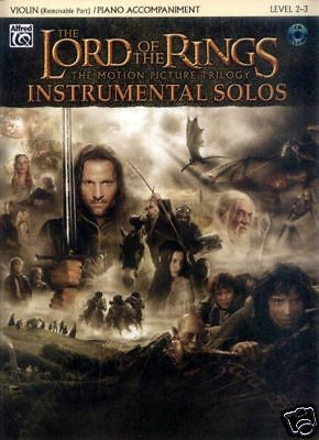 The Lord of the Rings Play-Along Noten CD Violine