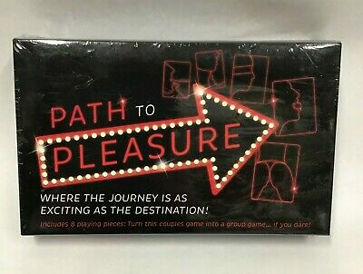 The Path To Pleasure Couples Card Game Steamy Hot Sexy Lovers Great Gift