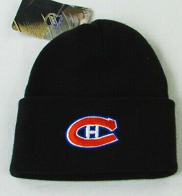 NHL Team Logo Winter Hat Beanie, Adult Sizes [BUF, LA, MON, PIT]
