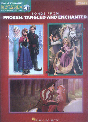 Frozen Tangled Enchanted Easy Piano Play-Along Klavier leicht Noten Download Cod
