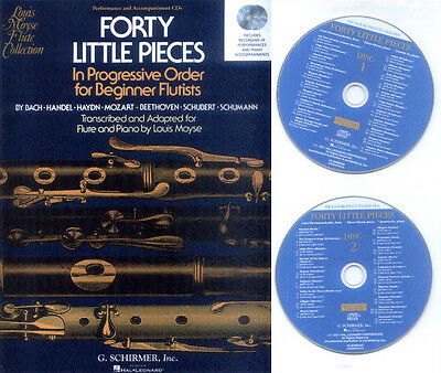 Forty Little Pieces Flute and Piano 2 Play-Along Begleit-CDs (keine Noten)