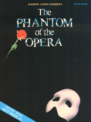 The Phantom of the Opera Das Phantom der Oper Noten für Klavier solo