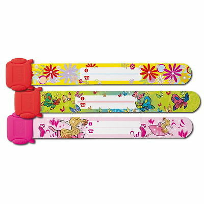 3x Sigel Kids-ID-Band Mädchen SY391 Kinder Sicherheits Notfall Safety Armband