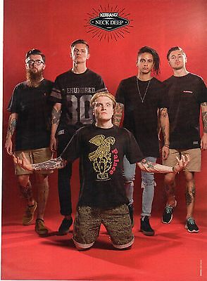Neck Deep     Mini Poster / Picture (MF32)