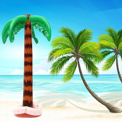 85cm Large PVC Inflatable Palm Tree Summer Beach Swimming Pool Toy Party Decor