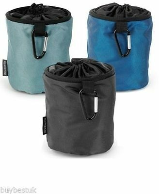 Brabantia Peg Carrier Holder Store Bag Blue Black or Mint x 1 only