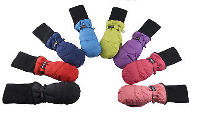 Snow Stoppers Long Cuff Nylon Mittens for Ages 1-11 - SnowStoppers Mittens