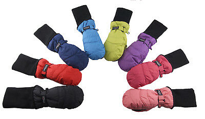 SnowStoppers Extra-Long Cuff Nylon Mittens for Ages 1-12 - SnowStoppers Mittens