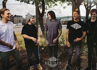 Pierce The Veil  / Bring Me The Horizon   Mini Poster / Picture (MF52)