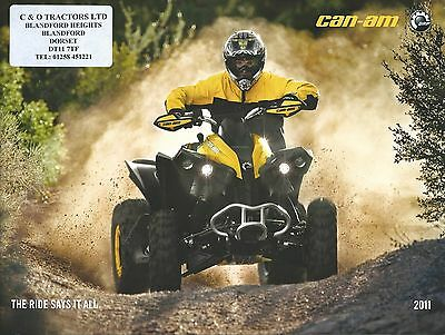 ATV Brochure - Can-AM - Product Line Overview - 2011 (V39)