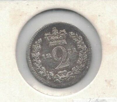 1831 Great Britain 2d silver VF