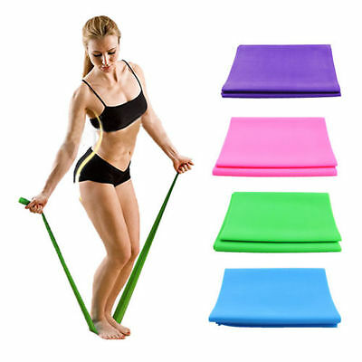 1.2M Yoga Elastic Strap Stretch Strap Rubber Stretch Resistance Exercise Band CA