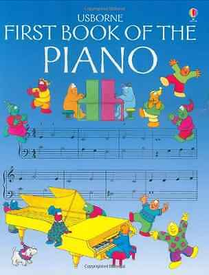 First Book of the Piano (Usborne First Music) - O'Brien, Eileen NEW Paperback 27