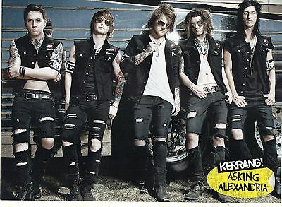 All Time Low   /  Asking Alexandria           Mini Poster / Picture (MF94)