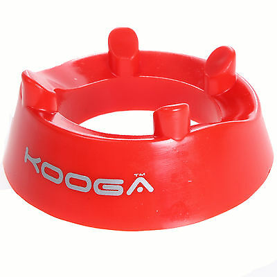 Kooga Rugby Kicking Ring in Red Heavy Moulded Plastic