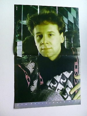 Jim Kerr   Simple Minds                        Double Page  Poster (LMG20)