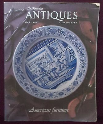 Antiques - The Magazine May 1981 American Furniture Issue Belter New York Etc.