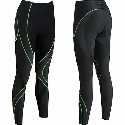 New CW-X Insulator Endurance Pro Compression Tights Running Pants Women Large