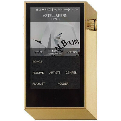 Astell & Kern AK240 Limited Edition Mastering Quality Sound Dual DAC (Gold)