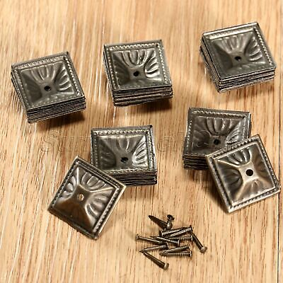10/50/100Pcs Square Upholstery Nails Tacks Studs Pins Furniture Deco Wholesale