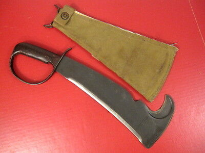 WWII US Army Woodsman Pal 280 Victor Tool Co. LC-14-B Survival Tool w/Scabbard 2