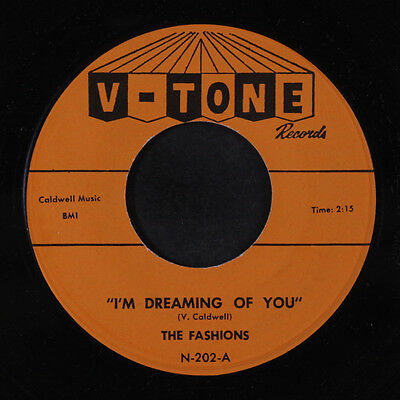FASHIONS: I'm Dreaming Of You / I Love You So 45 (orange lbl) Vocal Groups