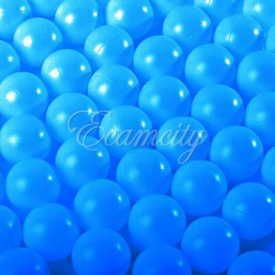 50X Blue Ping Pong Ball Beer Pong Table Tennis Lucky Dip Gaming Lottery Washable