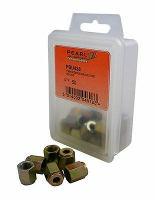 To Clear - Pearl Consumables M10 Female Brake Pipe Union Qty 50 Pbu438