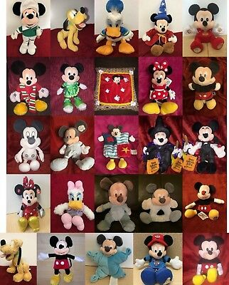 Mickey Minnie Mouse & Friends Disney Soft Toy & Baby Comforter various