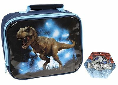Jurassic World Insulated Lunch Bag - Jurassic Park Childrens Dinosaur Lunch Box